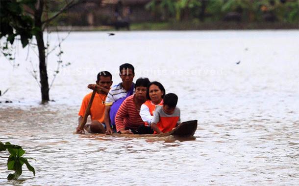 Flash flood hits Kaptagan, Lanao del Norte