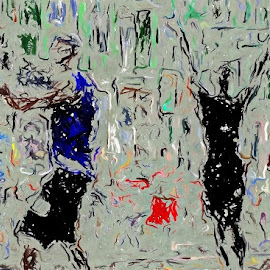 Let's Dance by Allen Crenshaw - Painting All Painting