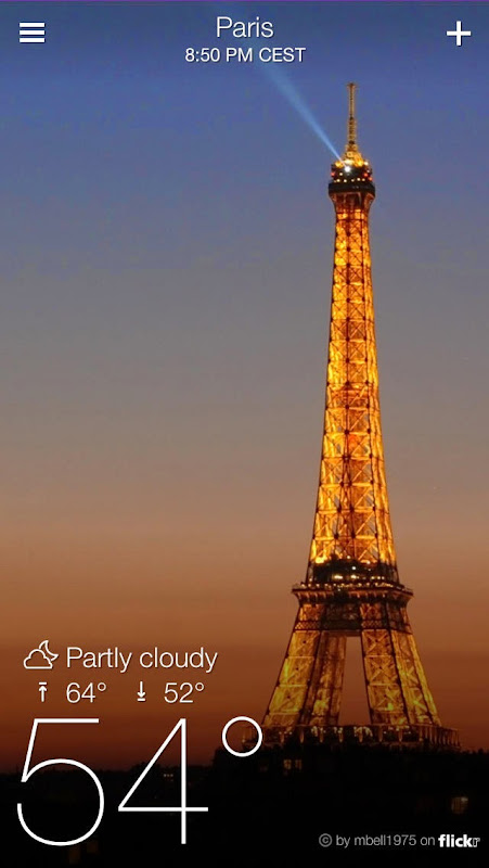 Yahoo! Weather: The Best Weather App for iPad and iPhone | Tech Tips