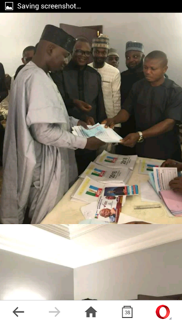Abubakar Sidiq Usman To Contest For APC National Publicity Secretary (Photos)