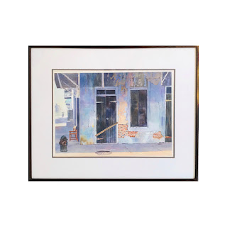 William Cantwell Signed Watercolor Painting