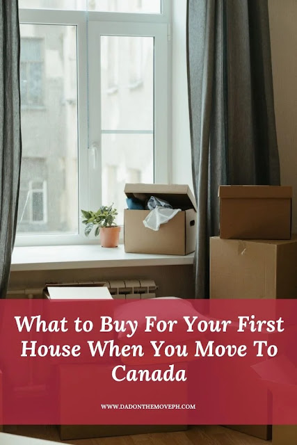 Practical things that you need to buy for your first house