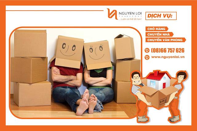 Dịch vụ chuyển nhà trọn gói huyện Củ Chi