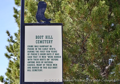 Boot Hill Sign