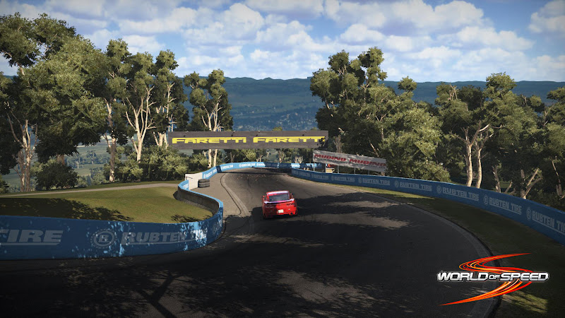 Ngắm trường đua Bathurst trong World of Speed 5
