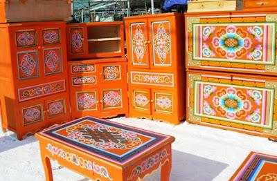 Восточный базар по-монгольски. Рынок в Улан-Баторе.