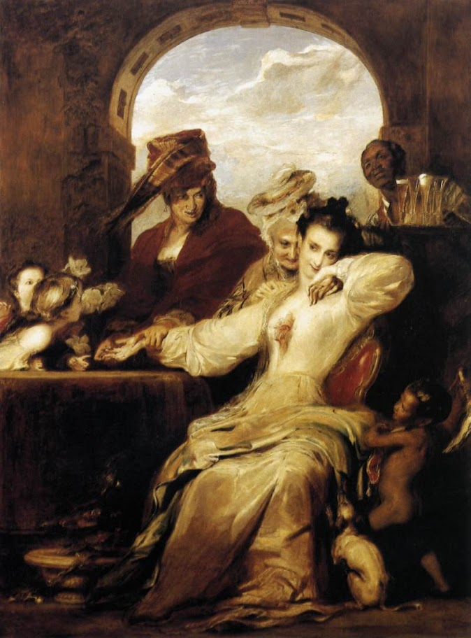 David Wilkie - Josephine and the Fortune-Teller (1837)