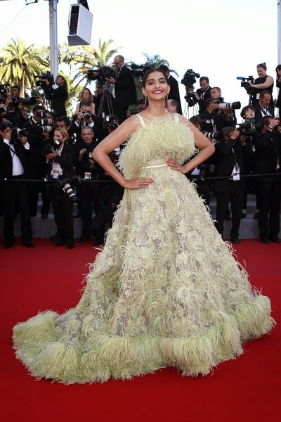 Sonam Kapoor Inside Out Premiere 68th Annua