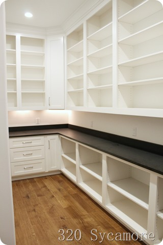 storage in pantry