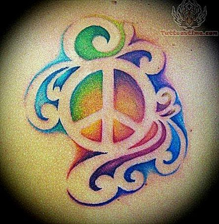 Peace Tattoos   I want Tattoo  I want Tattoo