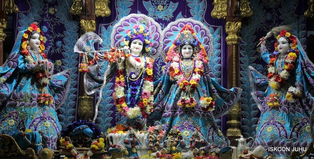 ISKCON Juhu Sringar Deity Darshan 17 Aug 2016 (2)