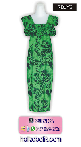 busana batik modern, model baju terkini, grosir batik