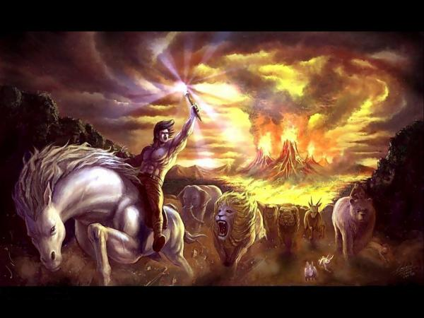 Fire In Hand, Magick Warriors 3