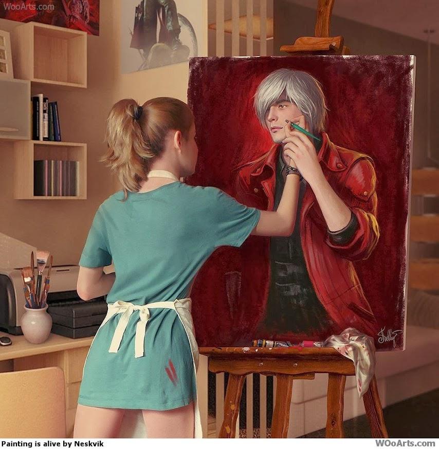 Painting is alive Neskvik