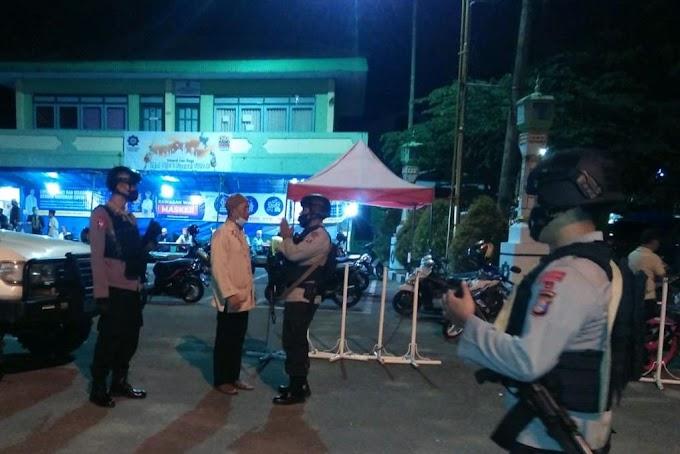 Brimob Kaltim Imbau Takmir Masjid Larang Jamaah Mudik dan Patuh Protkes