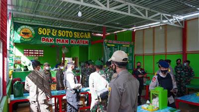 Warung Makan di Wilayah Kapanewon Wates dan Pengasih Menjadi Sasaran Penegakan Pemberlakuan PPKM Darurat
