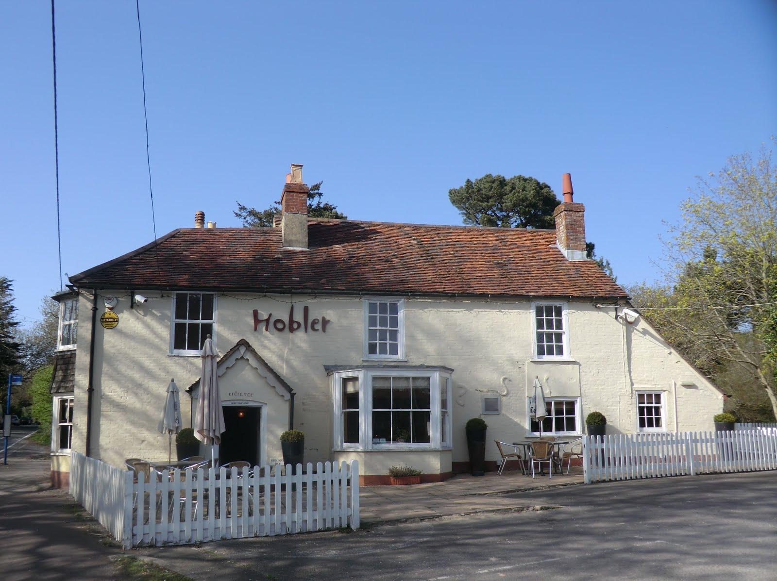 CIMG7795 The Hobler Inn, Battramsley