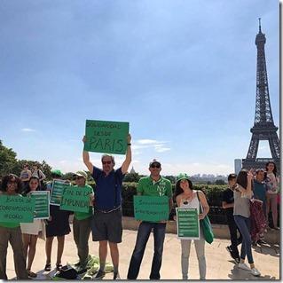 los verde en paris
