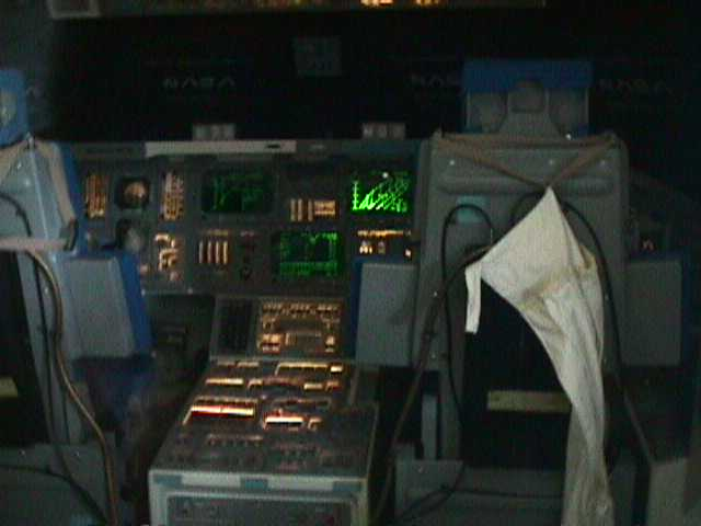4540Command Panel of Space Shuttle