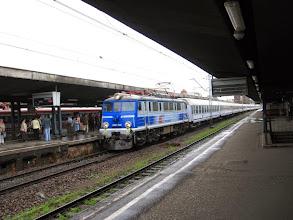 Photo: Katowice: EU07-545 z pociągiem TLK Barbakan relacji Kraków Główny - Świnoujście