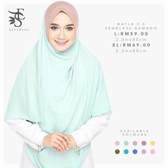 shawl labuh nayla escraves