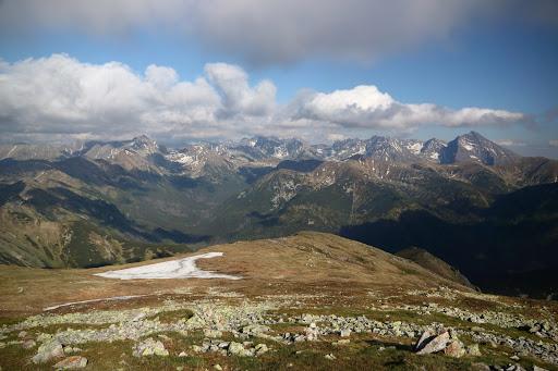 Vysoké Tatry z Kresanice