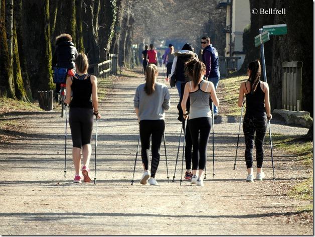 Mädchensport
