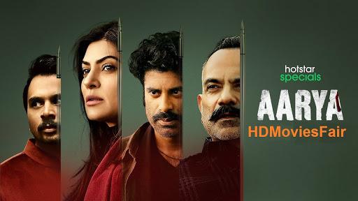 Aarya 2020 banner HDMoviesFair