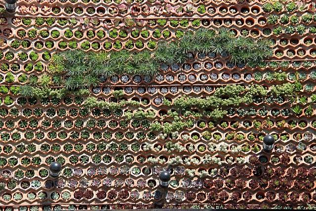jardín vertical eco.bin crasas ibiza Ushuaïa