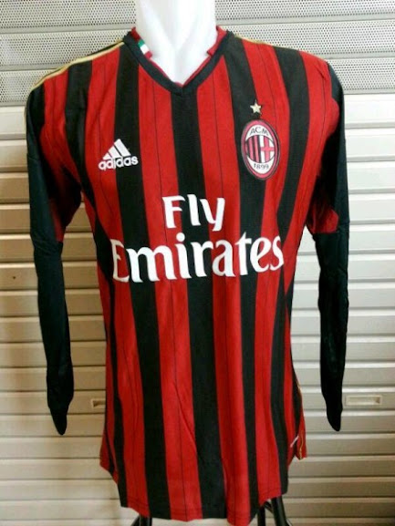 Jual Jersey AC Milan Lengan Panjang