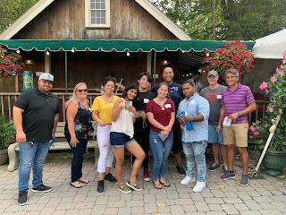Corcoran Management Company employees at Kimball Farm