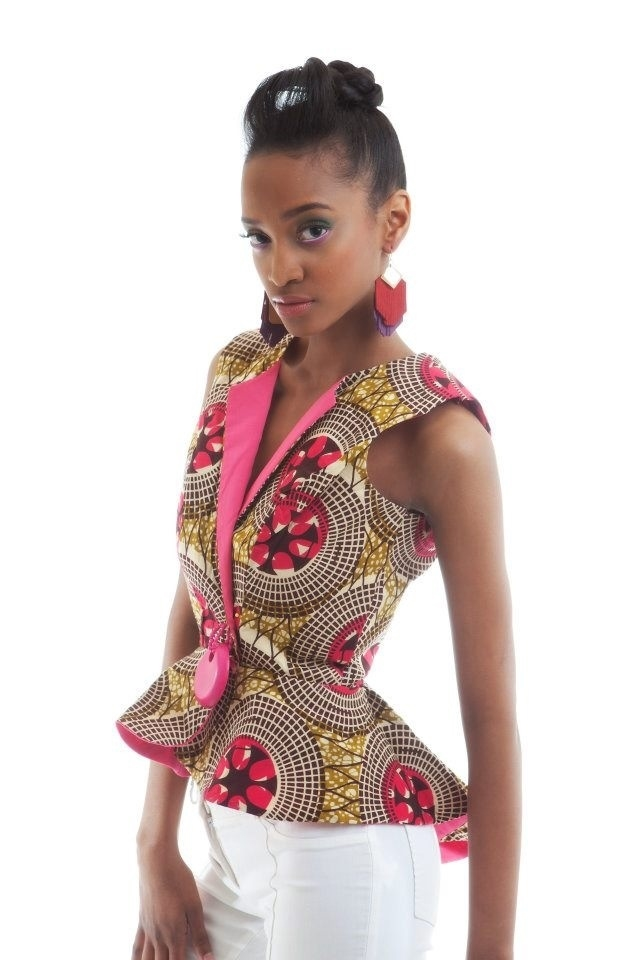 BEAUTIFUL ANKARA JACKET OUTFIT STYLES 2016 / 2017   Fashionte