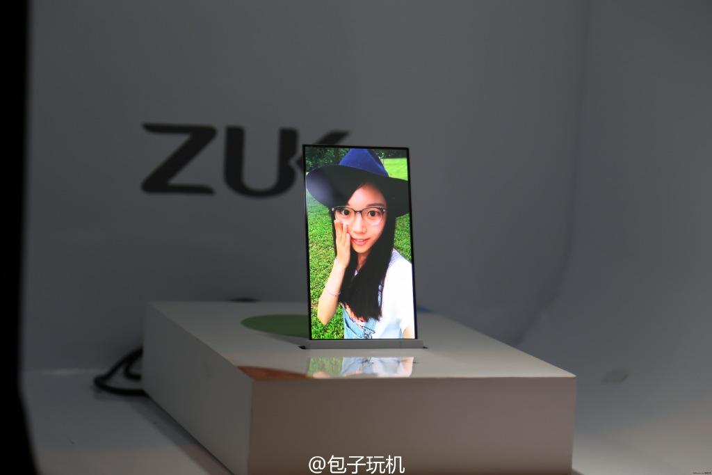 Nguyên mẫu smartphone màn hình trong suốt 2