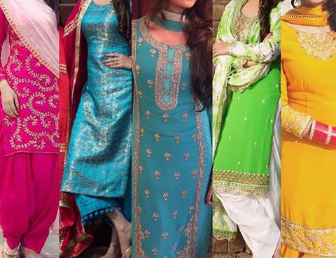 pujabi suit designs