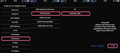 R-SIM 10+の設定
