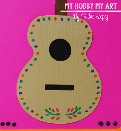 MUSICAL TAG GUITAR ACOUSTIC, SnapDragon Snippets, Ruthie Lopez, My Hobby my art 3