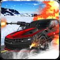 Snow Traffic Car Racing Rider icon
