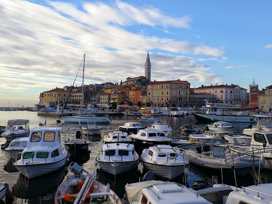Tuesday afternoon in Rovinj