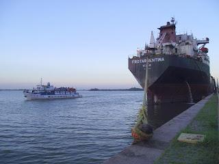 navegação no Guaíba, em Porto Alegre