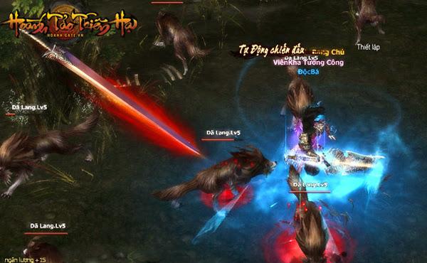 Hoành Tảo Thiên Hạ mở cửa Alpha Test từ 07/07 4