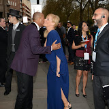 OIC - ENTSIMAGES.COM - Collin Jackson and Michelle Collins at the The 5th Annual Asian Awards 2015 in London 17th April 2015 Photo Mobis Photos/OIC 0203 174 1069