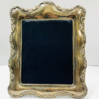 """Sterling Silver 8""""x10"""" Picture Frame"""