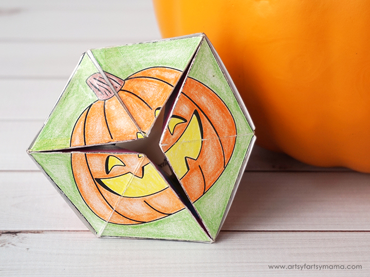 Free Printable Halloween Flextangle