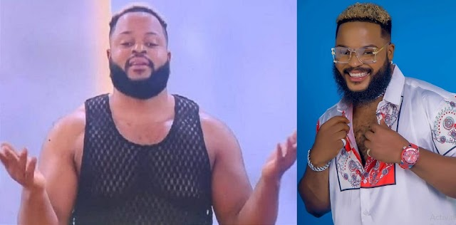 """BBNaija: Moment Whitemoney asked Biggie for shaves and dyes for their hair, to look fresh """"at least for eviction"""" [Video]"""