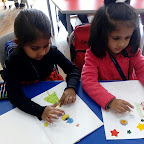 Drawing and Colouring activity (Sr.KG) 23-12-2015