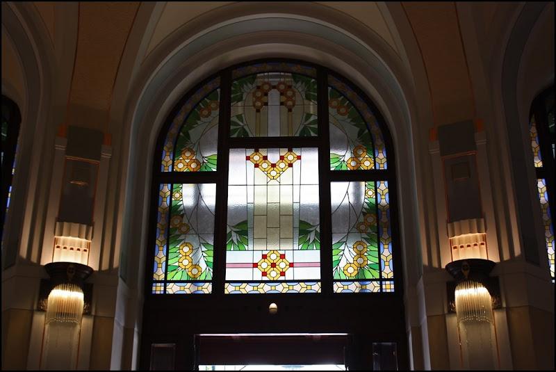 More Art Nouveau Stained Glass, Municipal House, Prague