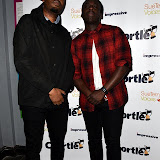 OIC - ENTSIMAGES.COM - David Ajay and Dane Baptiste at the  Chortle Comedy Awards in London 22nd March 2016 Photo Mobis Photos/OIC 0203 174 1069