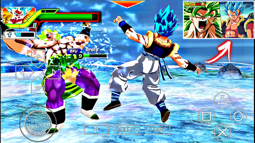 Descargar YA DRAGON BALL  Tenkaichi TAG TEAM MOVIE BROLY MOD BT3 V22 - DBZ TTT PARA ANDROID (PPSSPP)