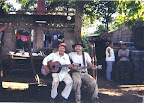 Nicaragua. Time out for a little music with one of the neighbors.