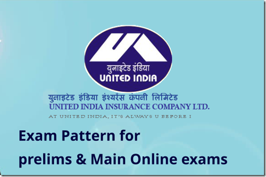 UIIC Assistant Exam pattern for Prelims & Main Exams